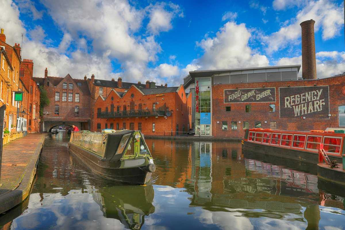 Canals in and around Birmingham - enjoy them!