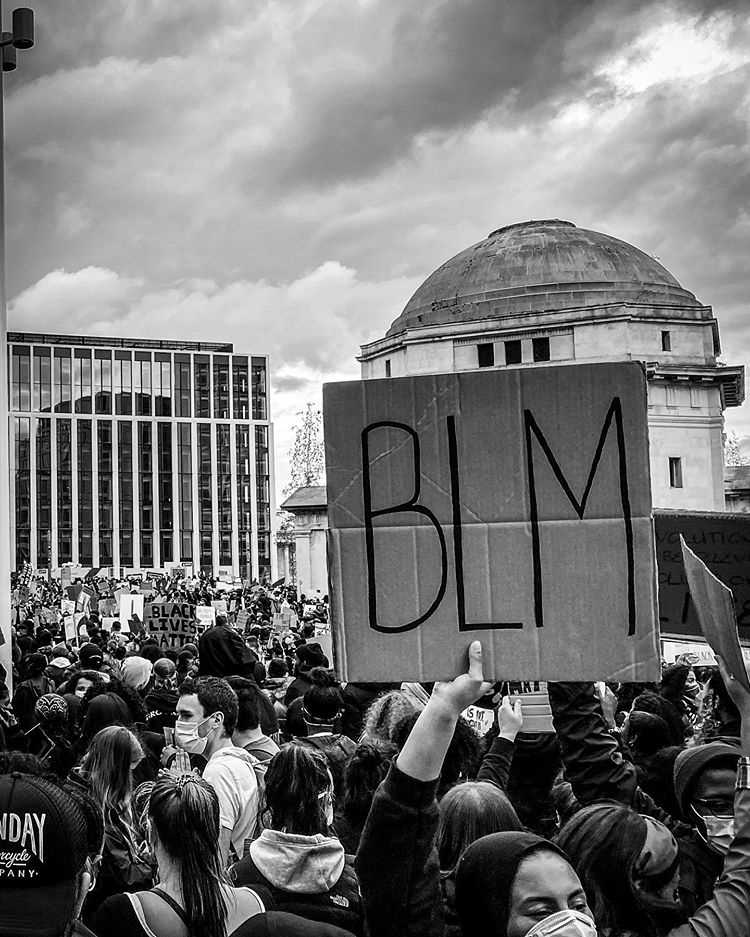 Birmingham`s support for Black Lives Matter #BirminghamBLM