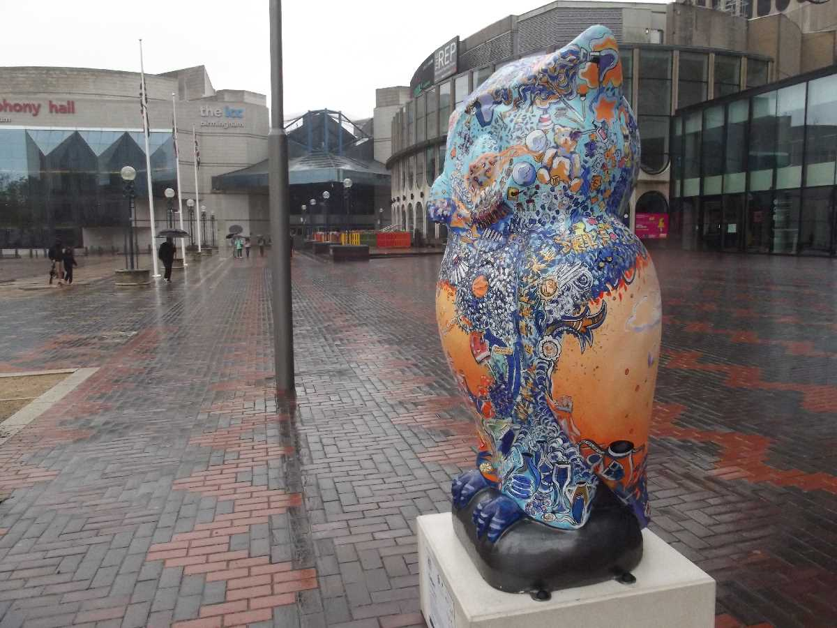 The Floral Trail and The Big Hoot in Centenary Square