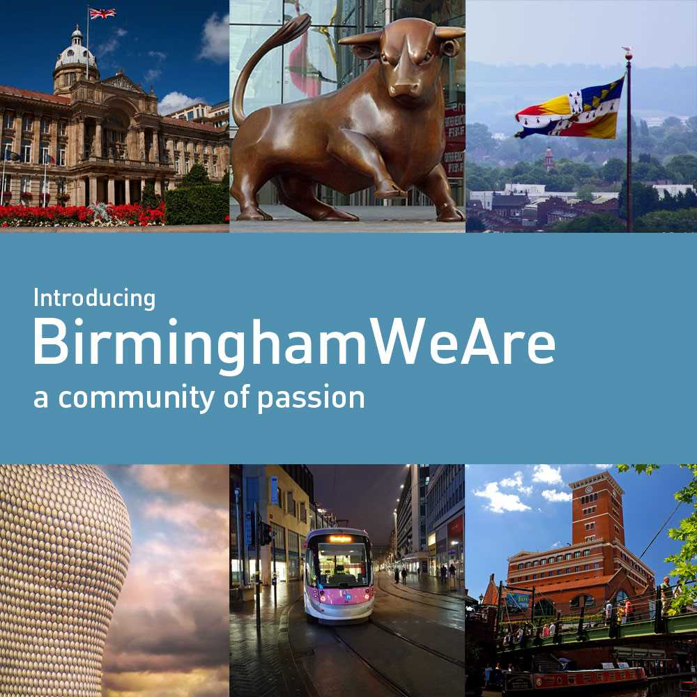 BirminghamWeAre - a FreeTimePays Community of Passion and digital portal for people who want to make a difference!