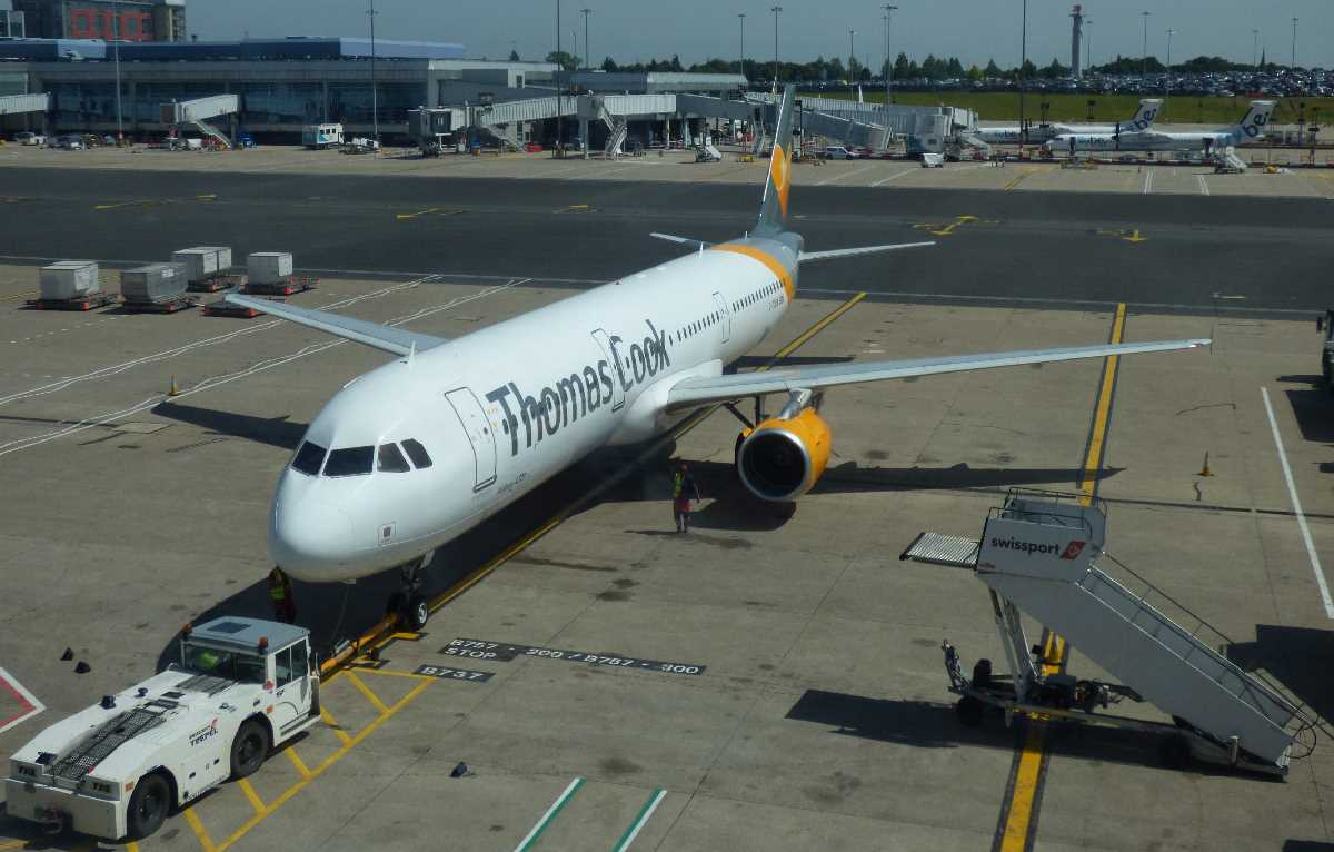 Airlines gone but not forgotten at Birmingham Airport: Thomas Cook Airlines