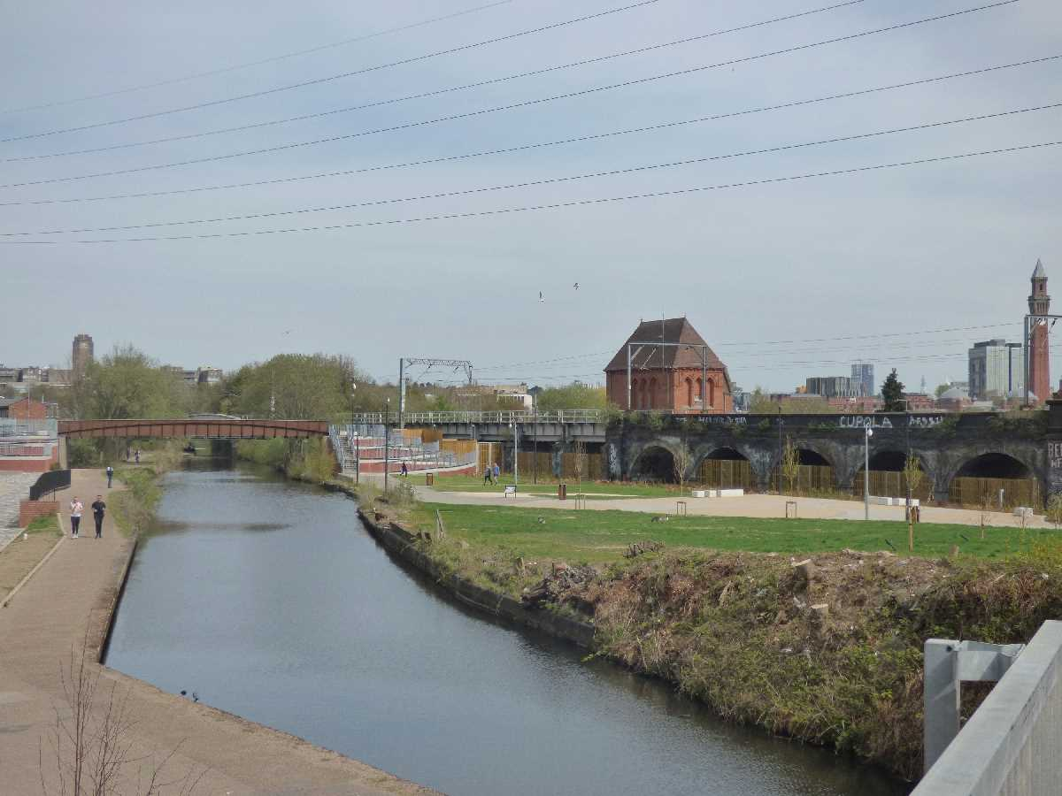 Selly Oak Junction - a decades development of the Winding Hole site of the Lapal Canal
