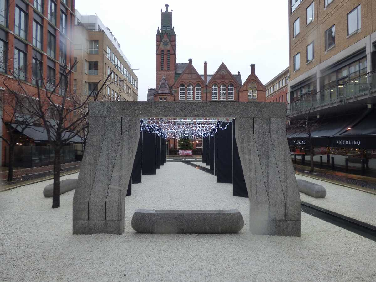 Oozells Square in Brindleyplace
